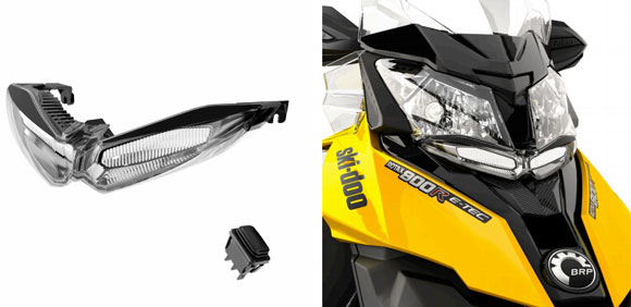 Brp Unveils Auxiliary Lighting For Ski Doo Models