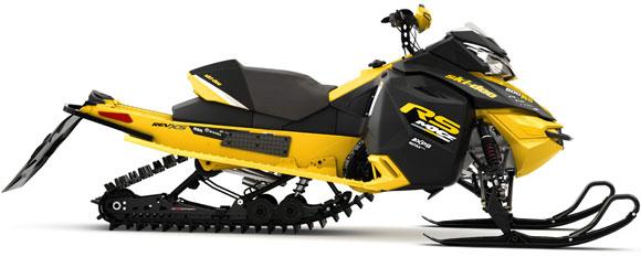 2014 Ski Doo Mx Zx 600rs Race Sled Unveiled Snowmobile Com
