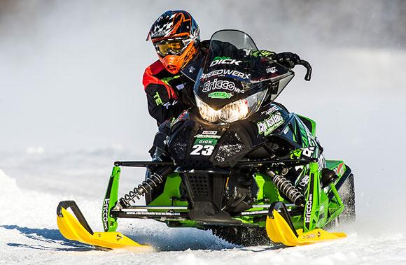 Brian dick racing snowmobiles