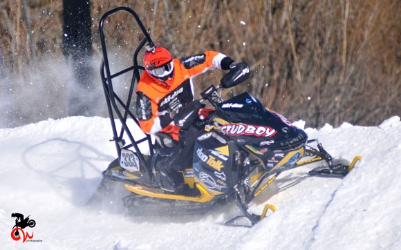 Garrett Goodwin X Games Snocross Cornering