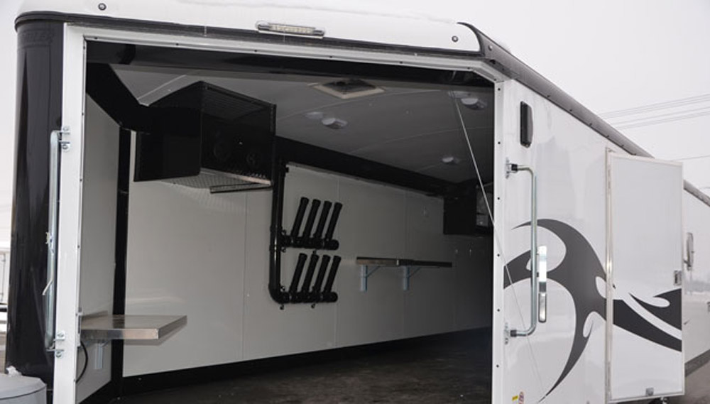 Ski Doo Freeride >> The Practical Guide to Enclosed Snowmobile Trailers - Snowmobile.com