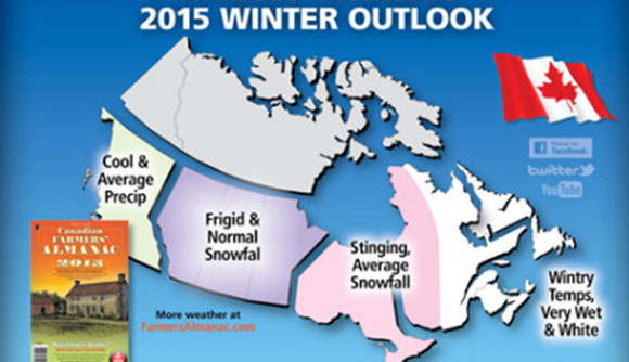 Farmers' Almanac Canada Winter