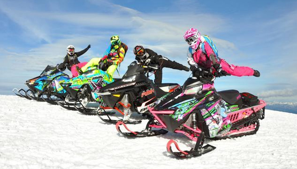 Snowmobile Helmets For Sale >> Women Snowmobilers Unite for the 15th Annual Ladies Ride ...