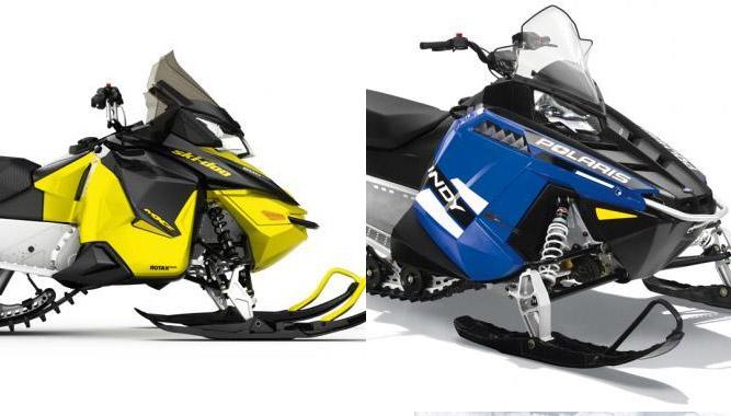 2016 Ski Doo Mxz Sport 600 Ace Vs Polaris 550 Indy