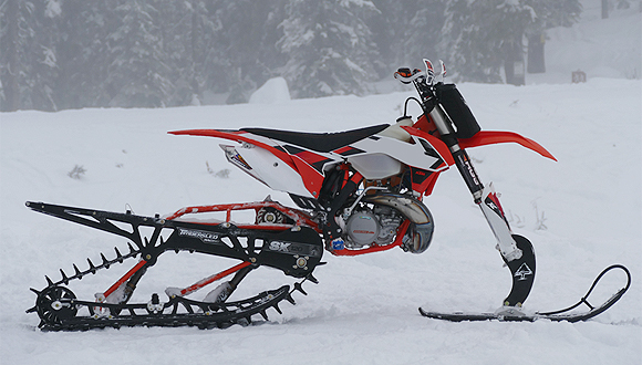 Dirt Bike Snowmobile >> Polaris Acquires Snow Bike Maker Timbersled Snowmobile Com