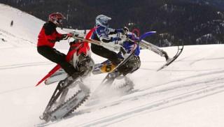Dirt Bike Snowmobile >> From Dirt To Snow Snowmobile Com