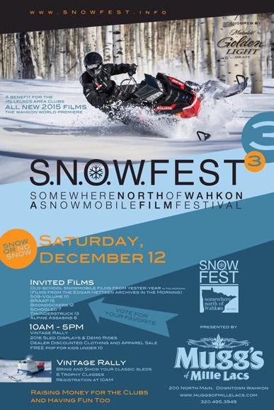 Wahkon SNOWFEST Poster