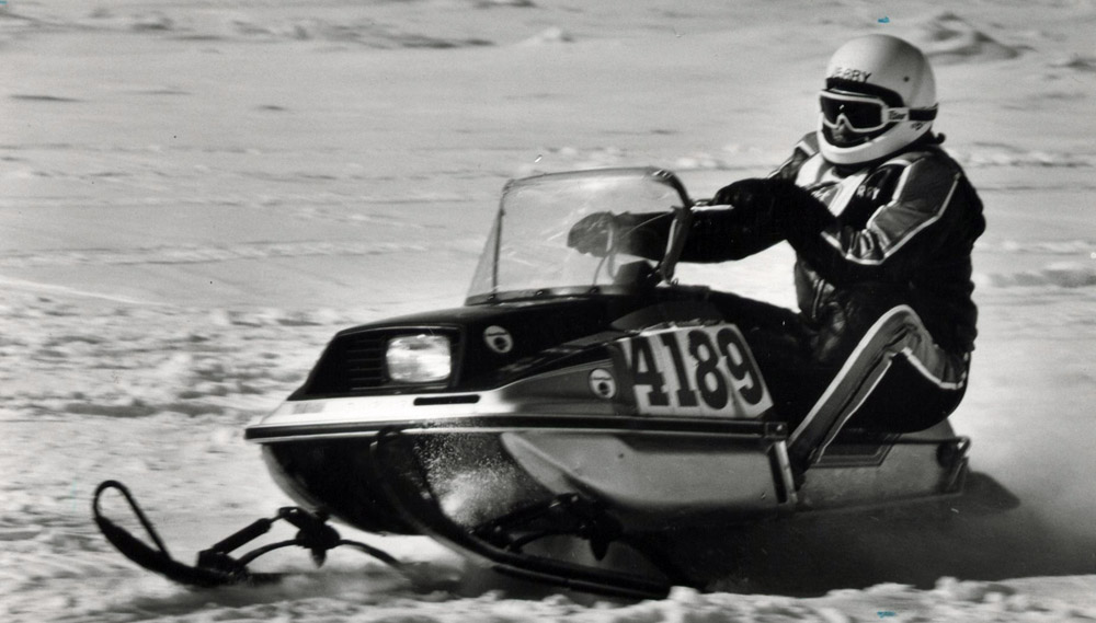 Vintage Review Yamaha Enticer 300 Snowmobile Com