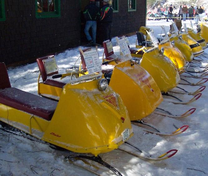 Old Ski-Doos Bear Brook Show