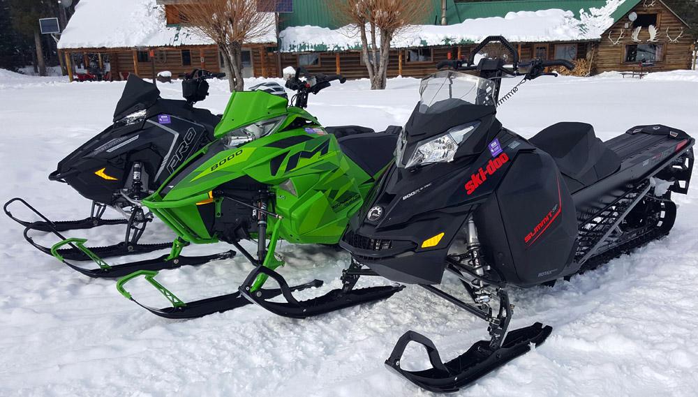 Ski Doo Parts >> 2016 Mountain Snowmobile Shootout: Part 1