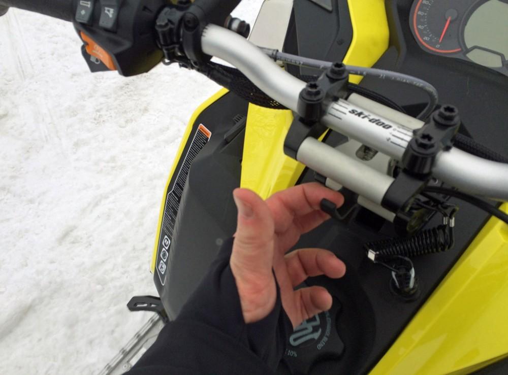 2017 Ski-Doo Adjustable Handlebar Riser