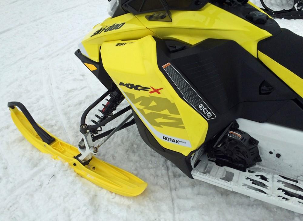 2017 Ski-Doo MXZ X Front Suspension