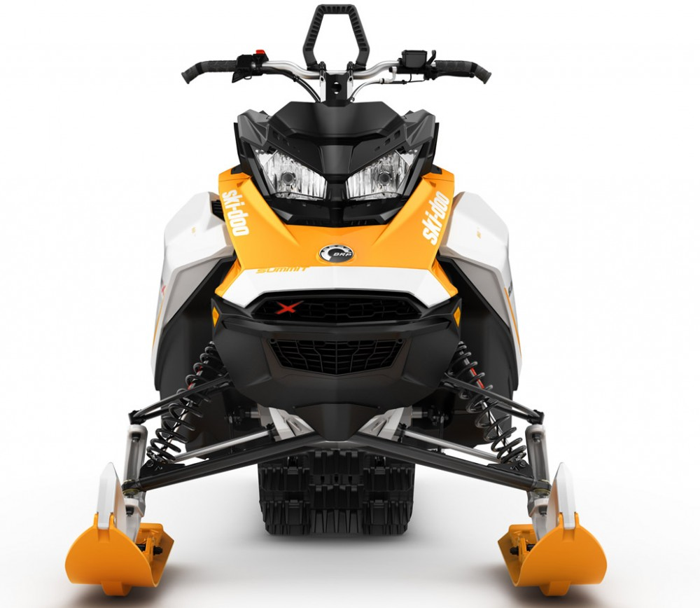 2017 Ski-Doo Summit X 154 Orange Crush