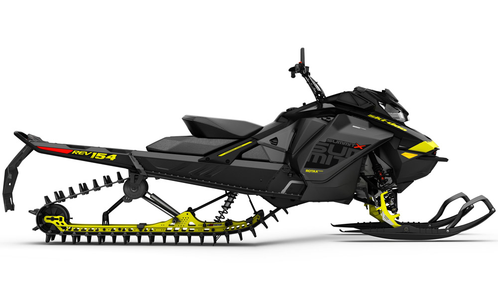 2017 Ski Doo Summit X 154 Profile ski doo offers new 850cc mountain snowmobile for 2017 snowmobile com