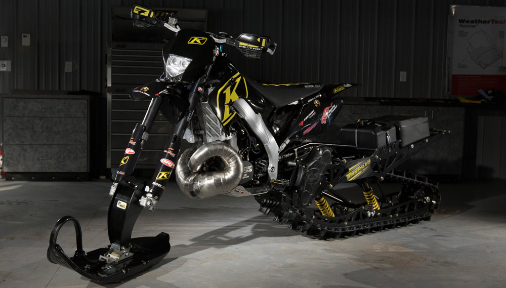 Ski Doo Parts >> Is This the Ultimate Snowbike? - Snowmobile.com