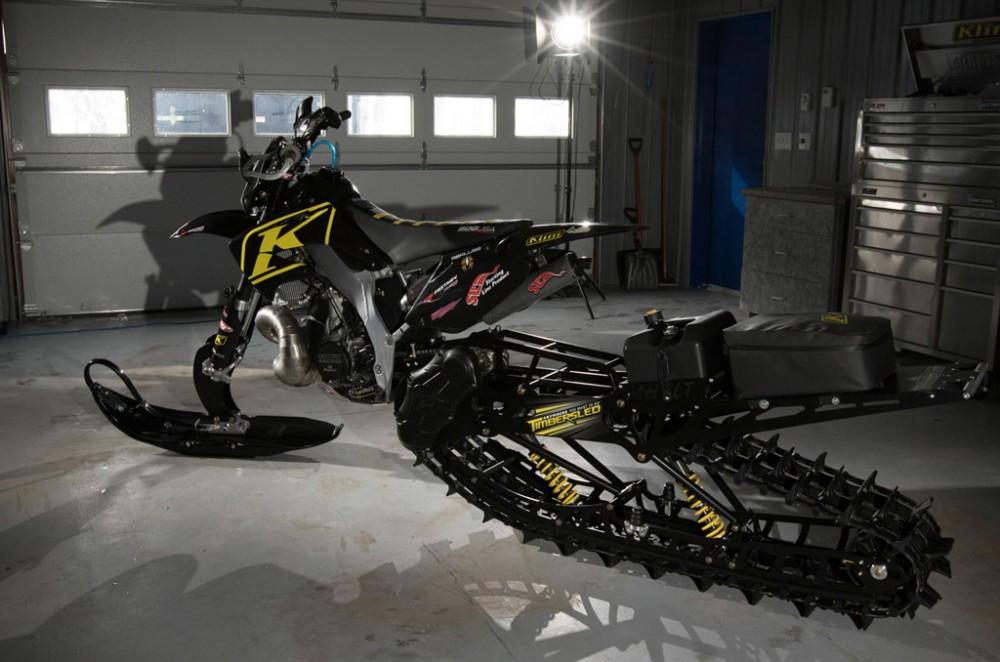 KLIM Timbersled Snowbike Profile