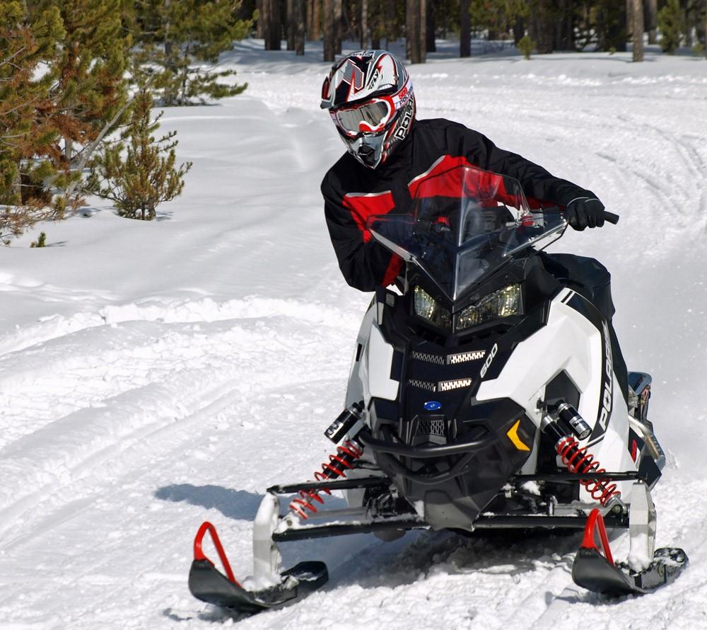 Minnesota Snowmobile Trails Polaris