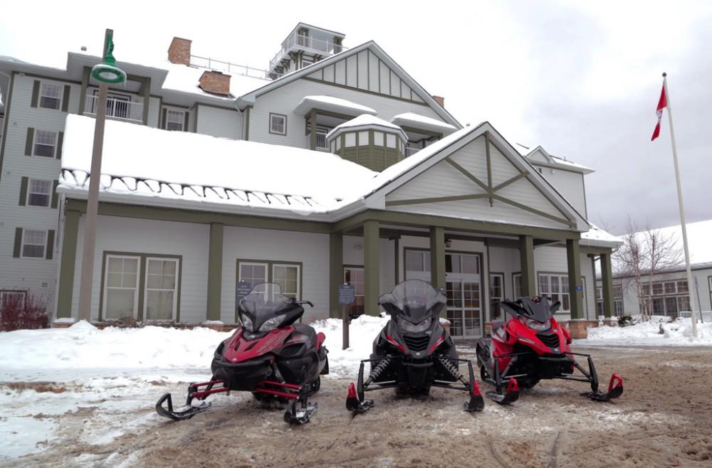 Residence Inn Gravenhurst Snowmobiles