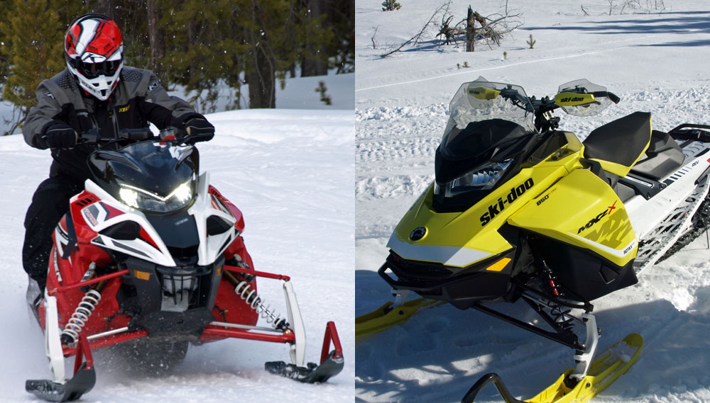 Impressions on the 2017 Ski-Doo 850s and Yamaha Sidewinder