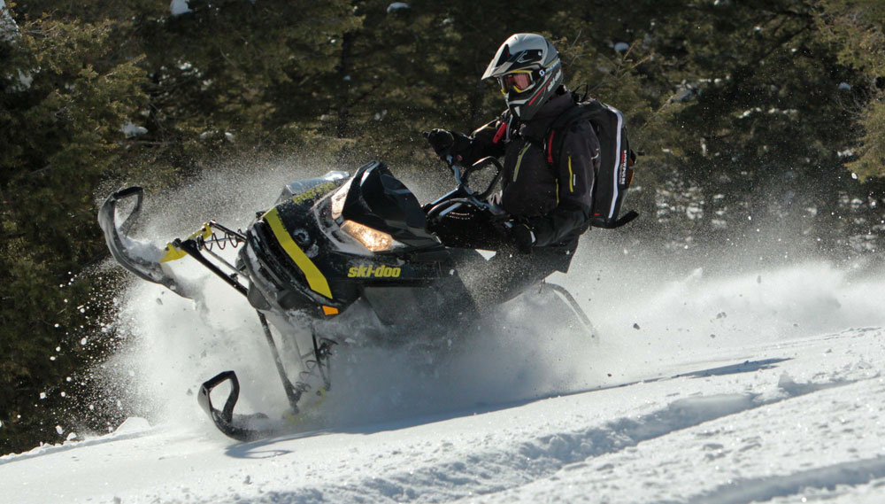 2017 Ski Doo Rev Summit X 850 Review Video Snowmobile Com