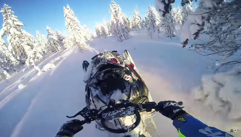 Backcountry Riding in Finland + Video - Snowmobile.com