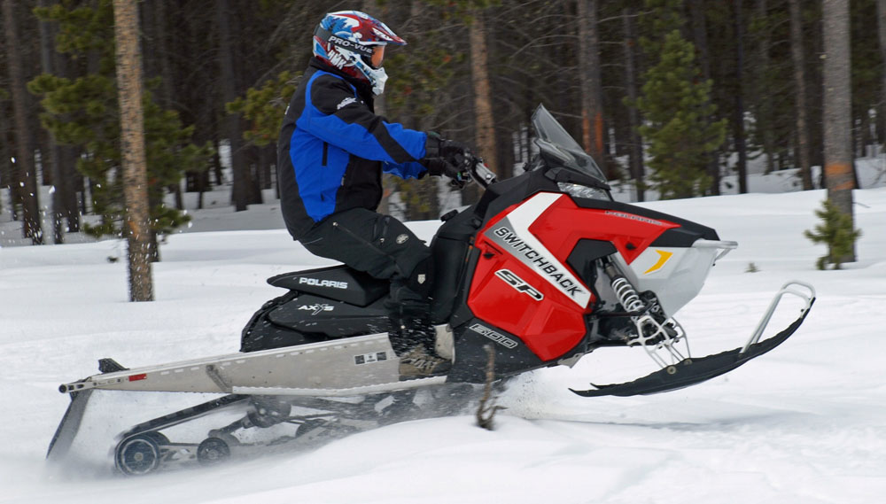 Ski Doo Freeride >> Polaris' 144 Emphasis - Snowmobile.com
