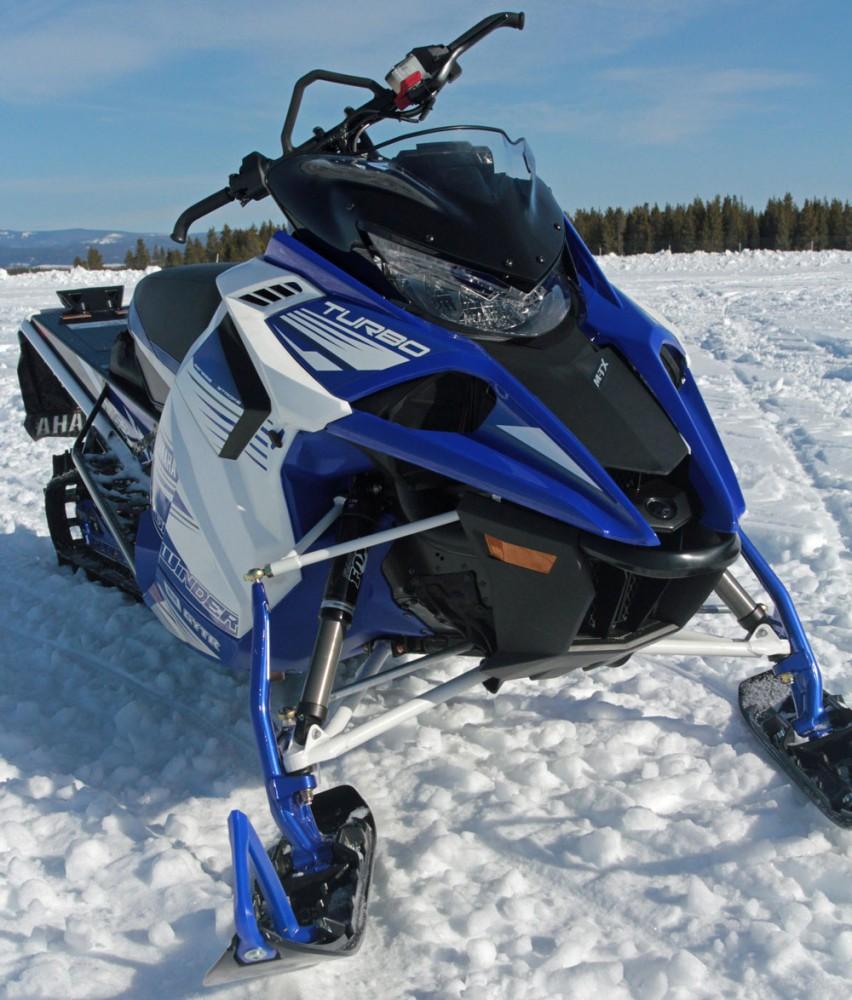2017 Yamaha Sidewinder M-TX Hood
