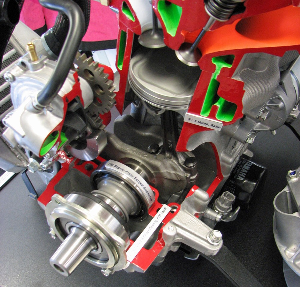 Yamaha 998 Turbo Cutaway
