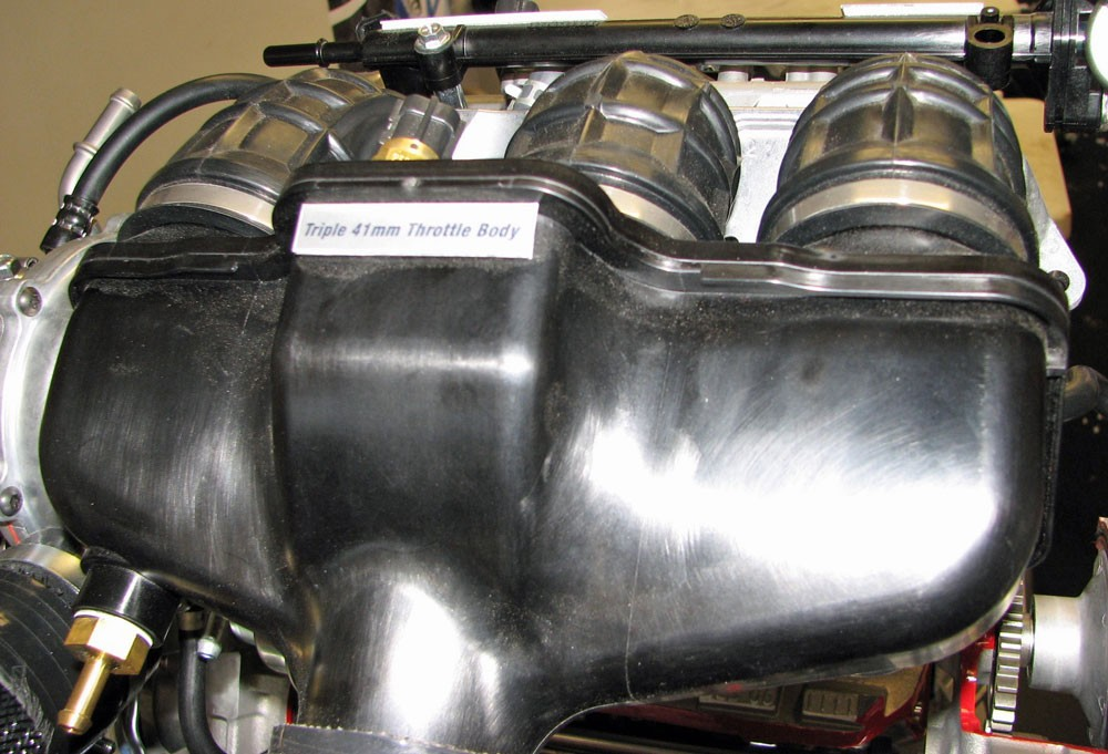 Yamaha 998 Turbo Throttle Bodies