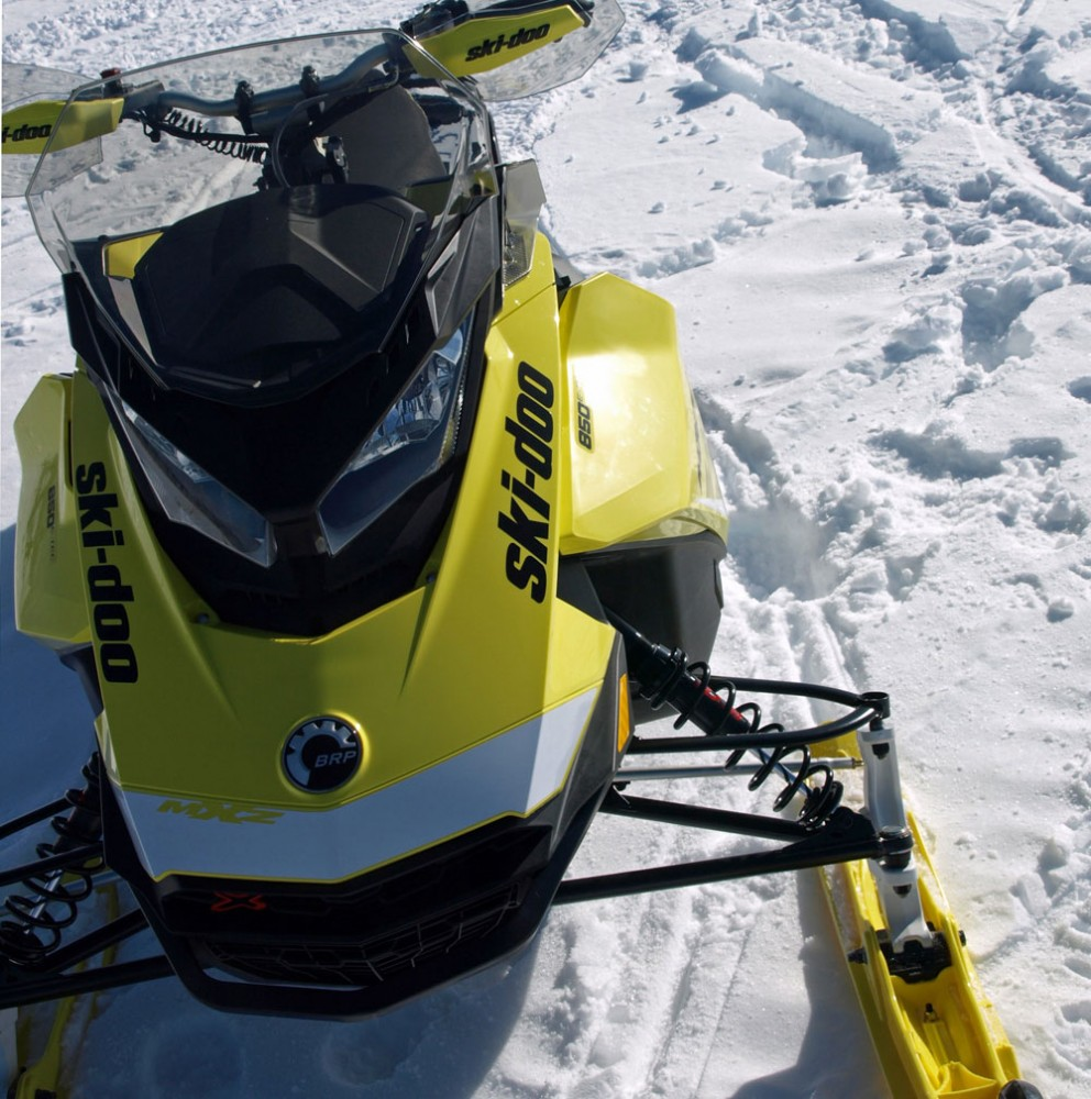2017 Ski-Doo MXZ X 850 Windscreen