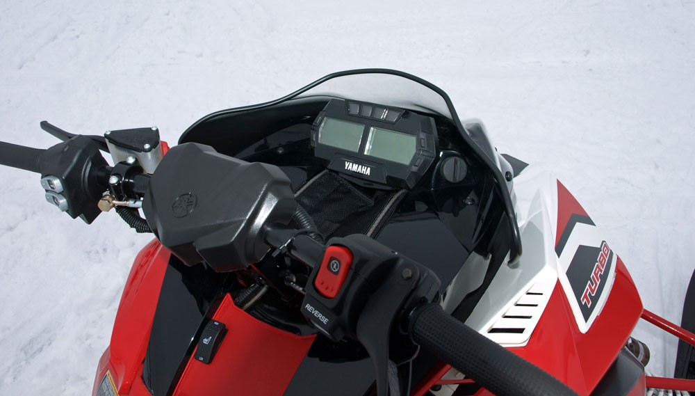 2017 Yamaha Sidewinder LTX Handlebar