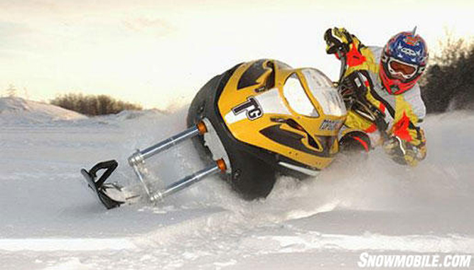 Boivin S Unique Snow Hawk Innovation Snowmobile Com