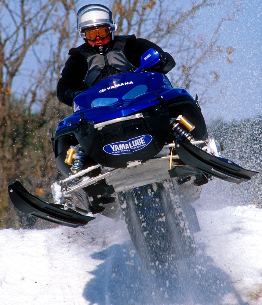 Snowmobile Vision Old Style