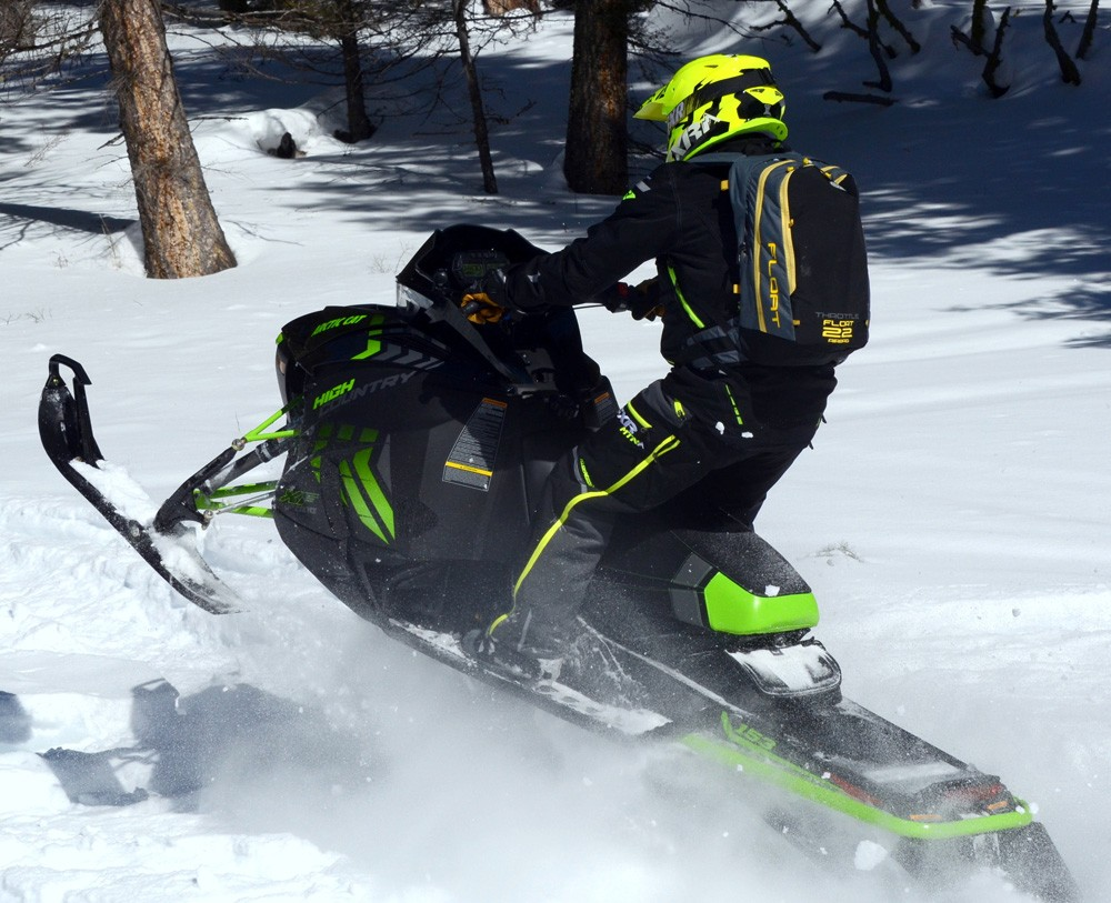 2017 Arctic Cat XF 9000 High Country Rear