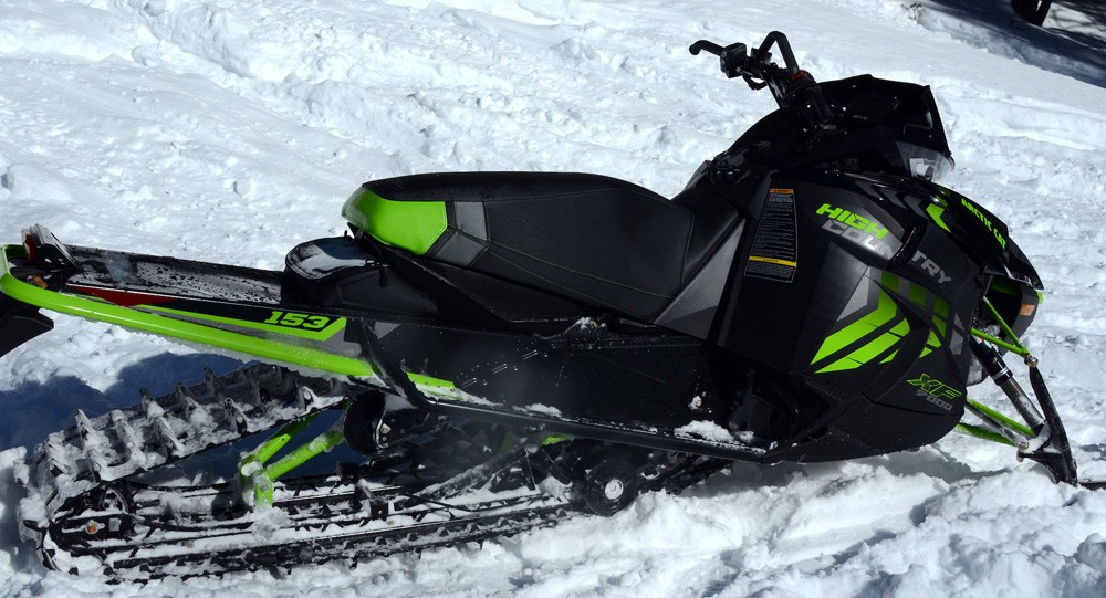 2017 Arctic Cat XF 9000 High Country Rear Suspension