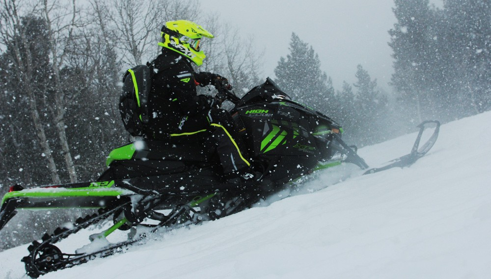 2017 Arctic Cat XF 9000 High CountryRight Side