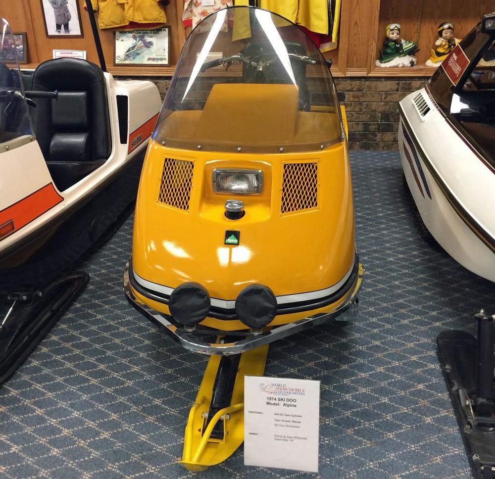 1974 Ski-Doo Alpine Front