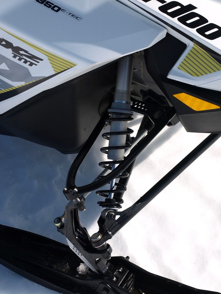 2017 MXZ TNT 850 Front Suspension