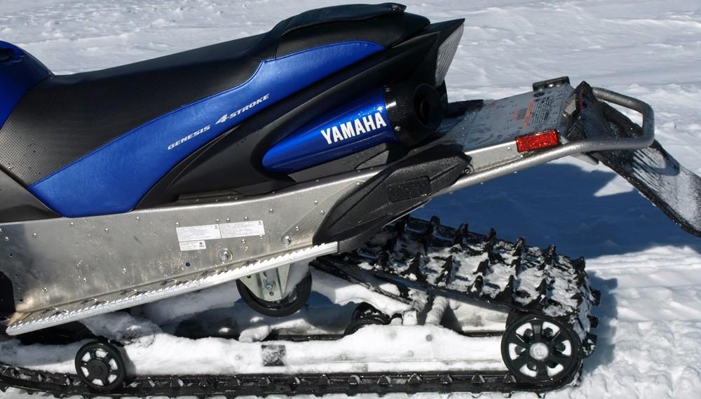 2017 Yamaha Apex Rear Suspension
