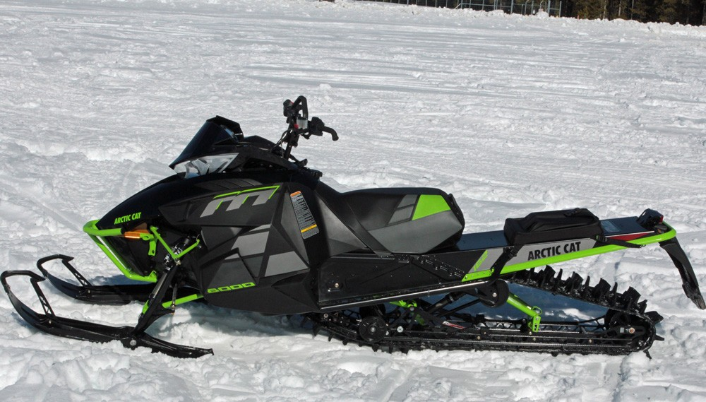 2017 Arctic Cat M8000 Limited Blackout