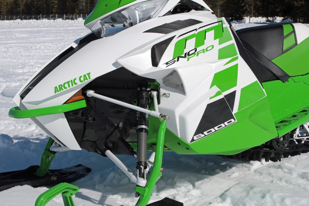 Arctic Cat M Rear Bumper