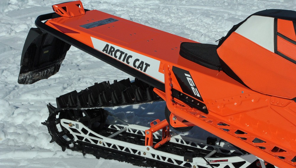 2017 Arctic Cat M8000 Sno Pro Painted Tunnel