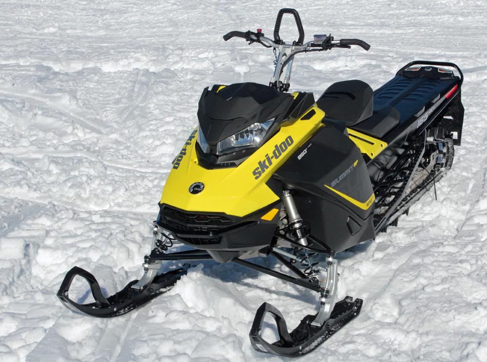 2017 Ski-Doo Summit SP Review - Snowmobile com