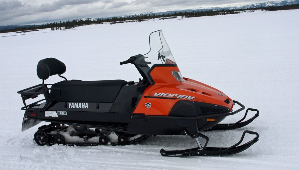 Then & Now: Yamaha's VK540 - Snowmobile com