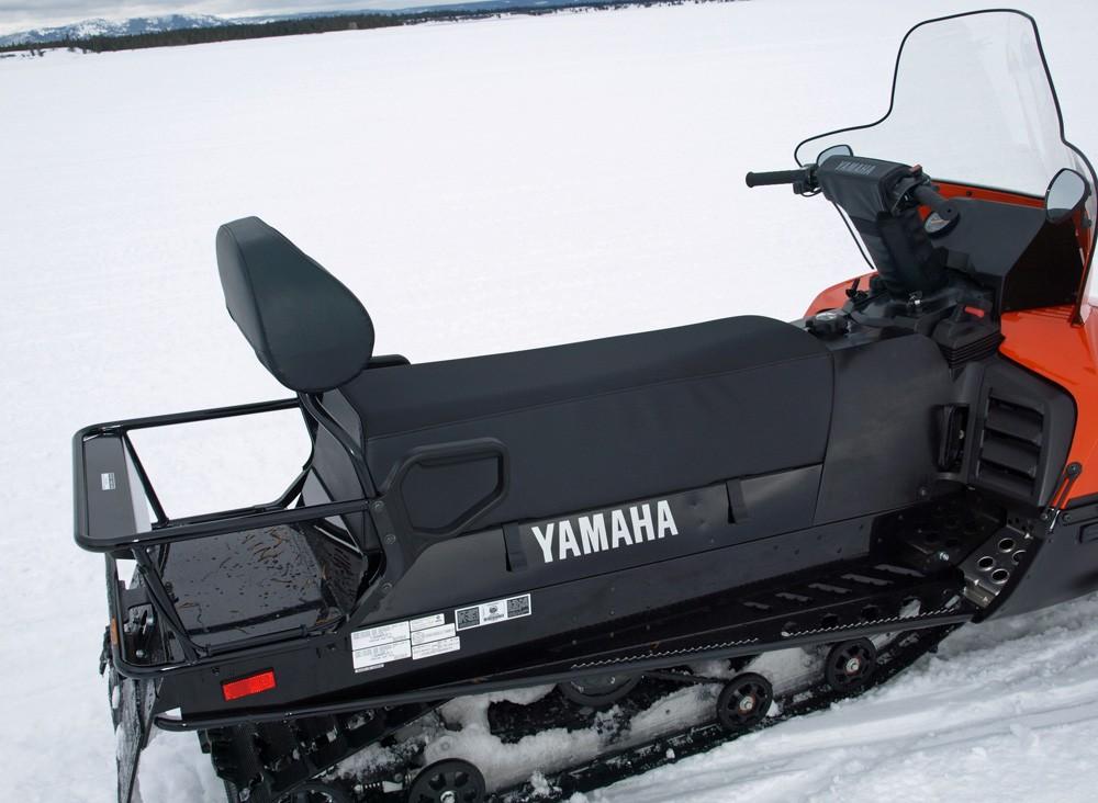 2017 Yamaha VK540 Seat Rack