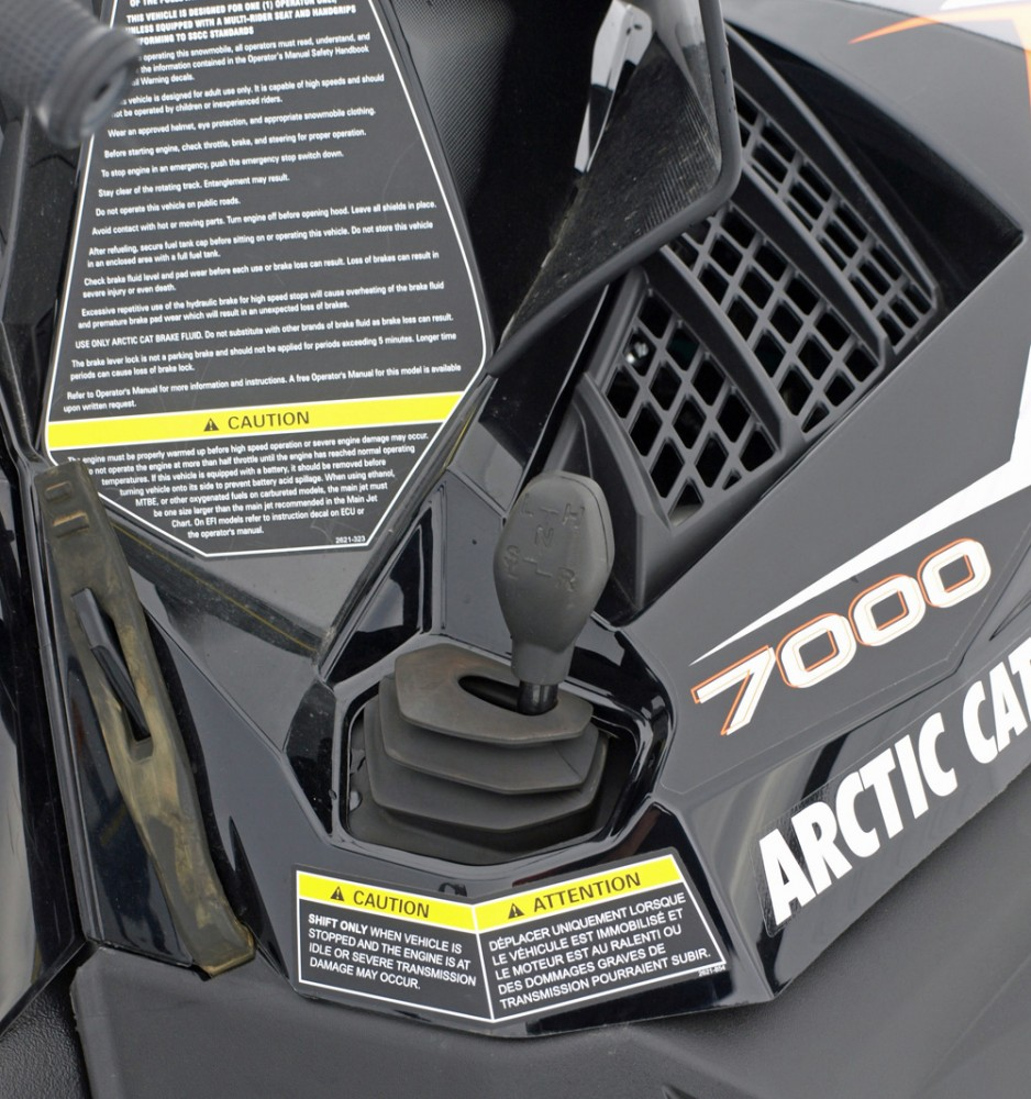 Arctic Cat Bearcat 7000 XT GS Gearshift