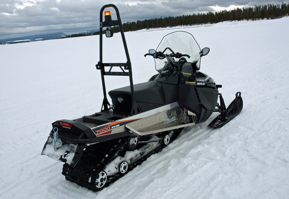 Arctic Cat Bearcat 7000 XT GS Rear