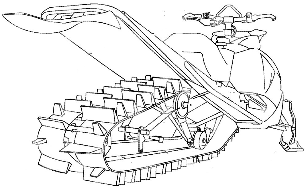 Arctic Cat Skid Frame Assembly Patent