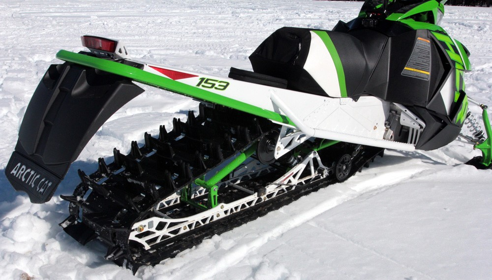 2017 Arctic Cat M8000 HCR Painted Tunnel