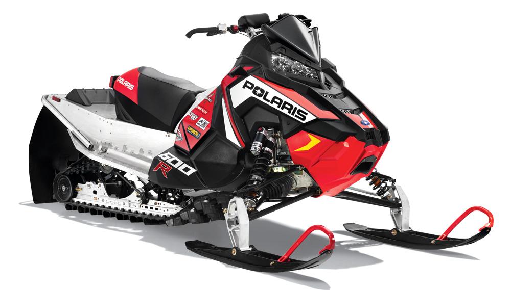 Polaris Unveils 2017 600R Race Sled - Snowmobile.com